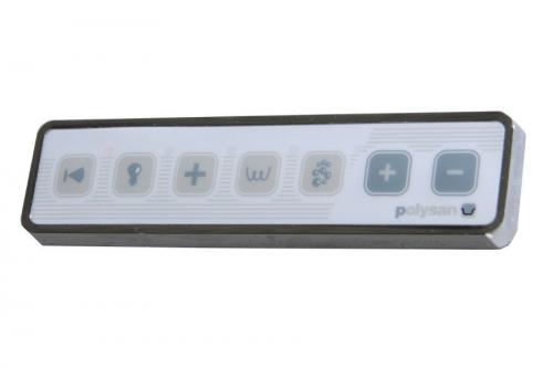 Polysan HM systém TURBO AIR, ovládání Typ A - Elektronické TBA