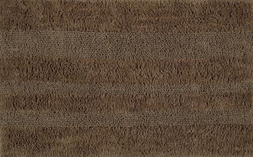 Aqualine DELHI koupelnová předložka, 50x80 cm, 100% bavlna, oboustranná, hnědá DE508036