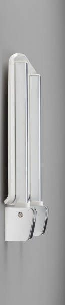 Gelco GELCO sklopné sedátko do sprchového koutu 32, 5x32, 5 cm, bílá GS120W