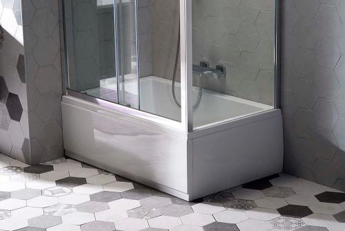 Polysan DEEP PLAIN čelní panel 120x36cm, levý 83666