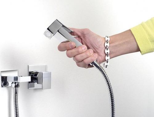 Sapho Bidetová sprcha hranatá, chrom BS129