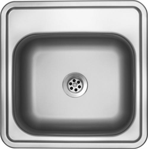 Nerezový dřez Sinks BAR 380 M 0,6mm matný (s přepadem) STSBAM3803806M