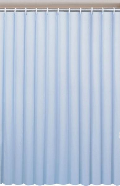 Aqualine Závěs 180x180cm, vinyl, modrá 0201003 M