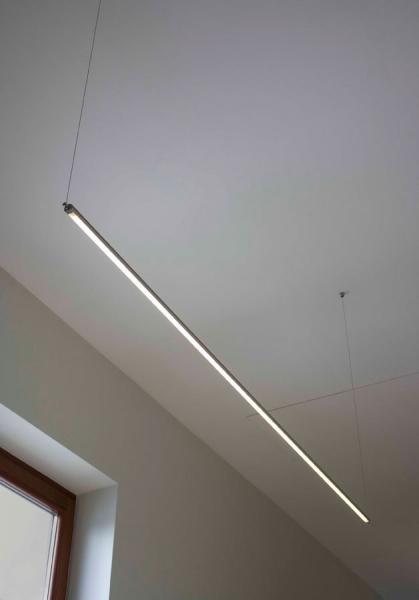 Sapho Led FROMT LED závěsné svítidlo 47cm 7W, hliník ED047