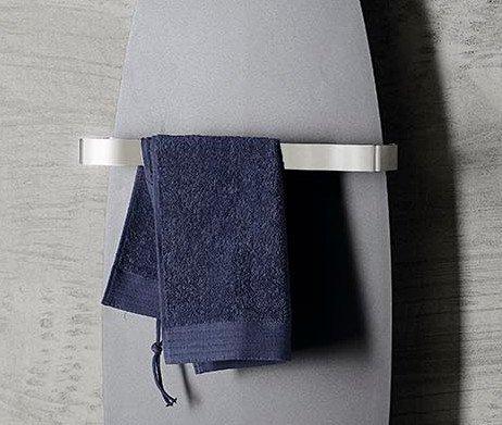 Sapho TAVOLA držák ručníků 475mm, broušená nerez MI475