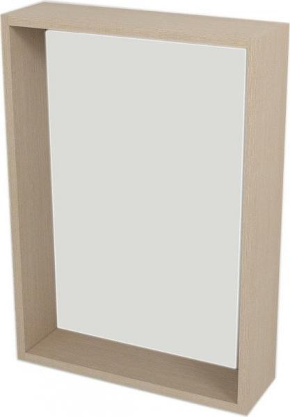Sapho RIWA zrcadlo s LED osvětlením, 50x70x15 cm, dub benátský RW504