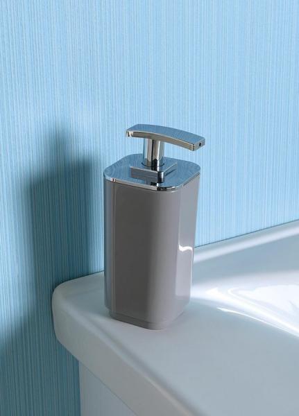 Aqualine SEVENTY dávkovač mýdla na postavení, šedá 638208