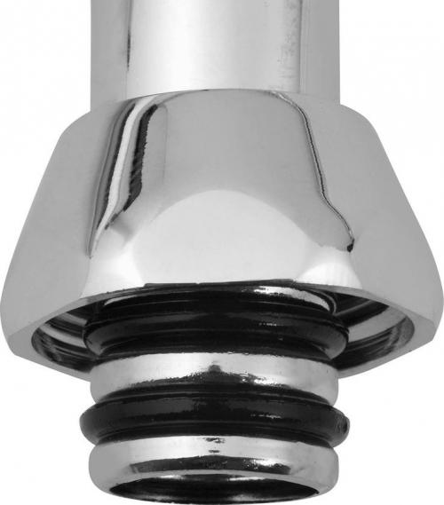 Aqualine Výtoková hubice tvar S, prům. 18mm, L 334mm, 3/4', chrom 15S300