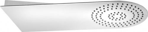 Sapho SLIM nástěnná hlavová sprcha 220x500x2, 4mm, kulatá, leštěný nerez MS710