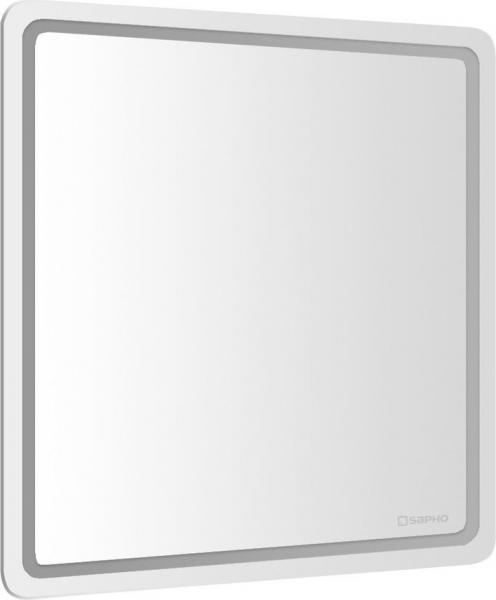 Sapho NYX LED podsvícené zrcadlo 800x800mm NY080