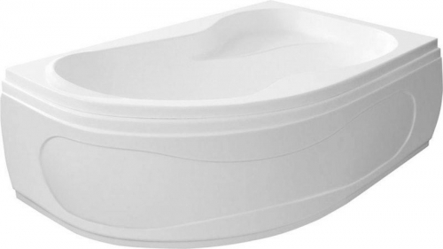 Aqualine CIDLINA 150 vana 150x105x45cm bez nožiček, levá, bílá G3618