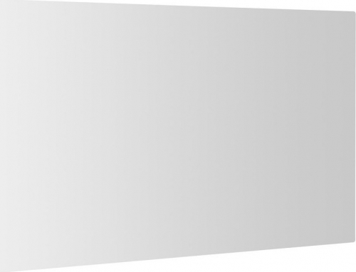 Sapho PLAIN zrcadlo 120x60cm, zakulacené rohy, bez úchytu 1501-29