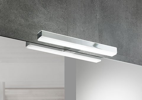 Sapho VERONICA 2 LED svítidlo, 8W, 300x25x83mm, chrom E26698CI