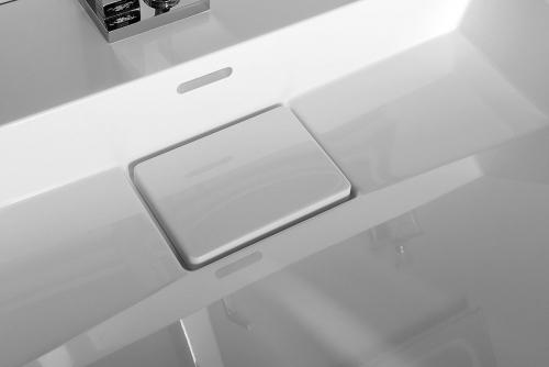 Sapho AMUR umyvadlo 60x45 cm, litý mramor, bílá 55030