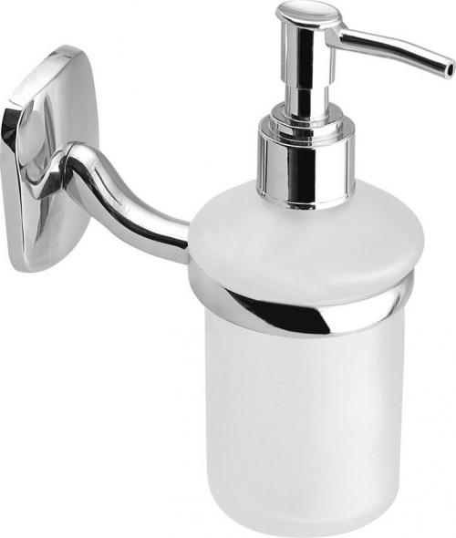 Aqualine RUMBA dávkovač mýdla 150ml, mléčné sklo RB119
