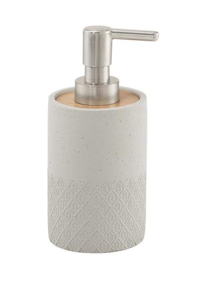 Gedy AFRODITE dávkovač mýdla na postavení, cement 4980