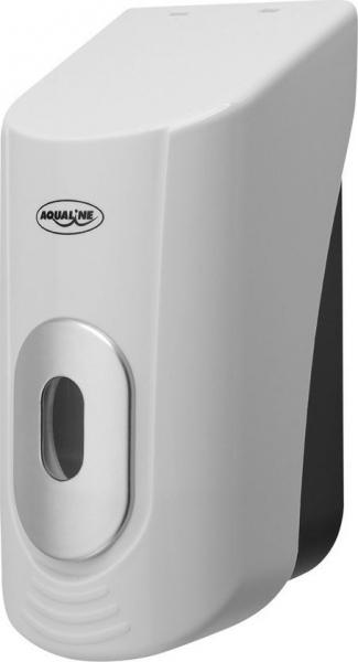 Aqualine Dávkovač tekutého mýdla na zavěšení 400ml, bílý 1319-74