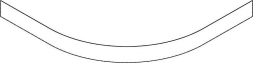 Gelco LAURA100 panel čelní výška 10cm GP501