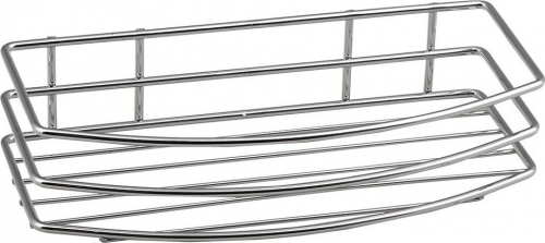 Aqualine CHROM LINE drátěná police jednoduchá, chrom 37004