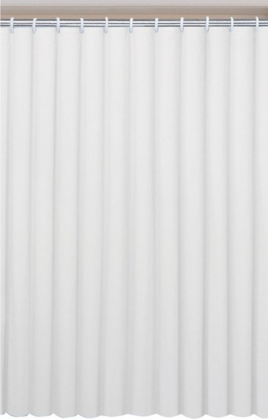Aqualine UNI sprchový závěs 120x200cm, vinyl, bílá 131111