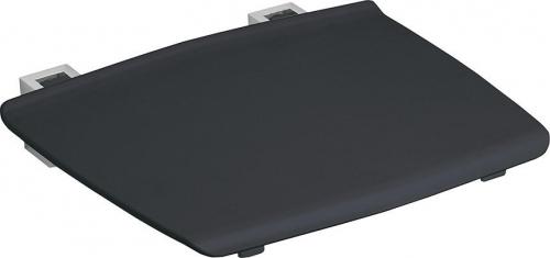Gelco GELCO sklopné sedátko do sprchového koutu 32, 5x32, 5 cm, tmavě šedá GS120G