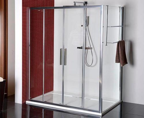 Polysan Lucis Line obdélníkový sprchový kout 1600x800mm L/P varianta DL4315DL3315