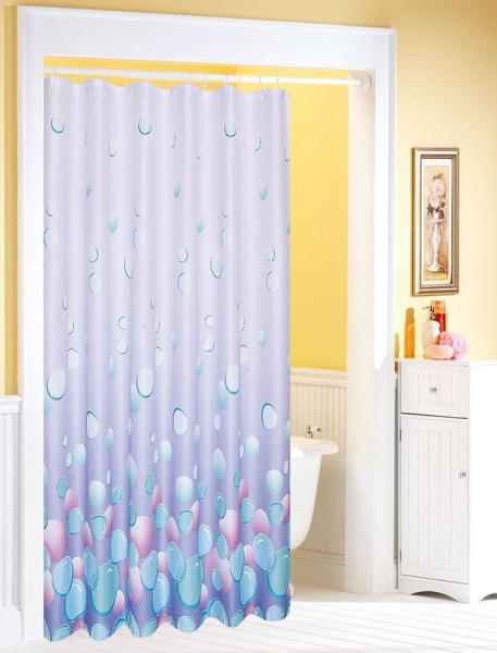 Aqualine Závěs 180x180cm, 100% polyester, světle fialová 1096