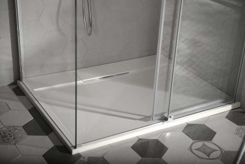 Gelco IRENA sprchová vanička z litého mramoru, obdélník 140x90x3, 5cm HI14090