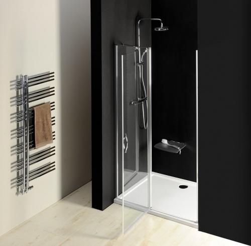 Gelco ONE sprchové dveře do niky 1300 mm, čiré sklo GO4413D