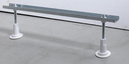 Aqualine Podpěrné nohy k vanám, délka 80 cm ANH70