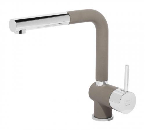 Granitový dřez Sinks SOLO 560 Truffle+MIX 3P GR ACRS560M3P54
