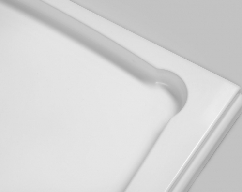 Gelco DIONA sprchová vanička z litého mramoru, čtverec 90x90x7, 5cm GD009