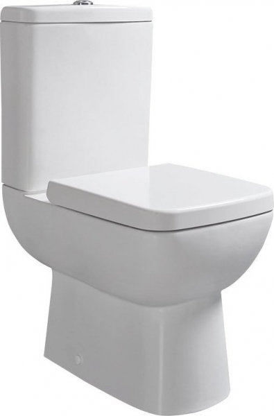 Sapho TYANA SHORT WC kombi vč. Soft Close sedátka a splach. mech., zadní odpad 72200E