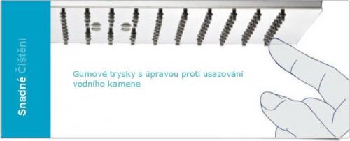 Sapho Hlavová sprcha, 200x200mm, chrom 1203-01