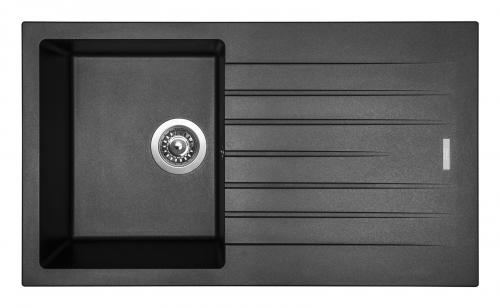 Granitový dřez Sinks PERFECTO 860 Metalblack ACRPE86050074