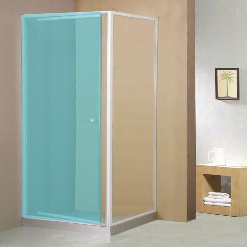 Aqualine AMICO boční stěna, sklo, pevná část, 900 mm GS90