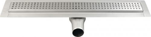 Gelco MANUS QUADRO nerezový sprchový kanálek s roštem, 750x130x55 mm GMQ33