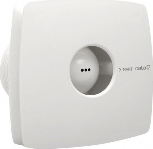 Cata X-MART 12T koupelnový ventilátor axiální s časovačem, 20W, potrubí 120mm, bílá 01021000
