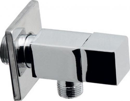 Aqualine Rohový ventil 1/2'x3/8', bez matky, hranatý, chrom 5318