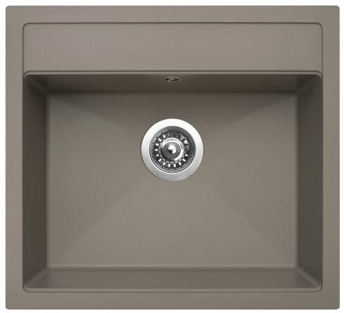 Granitový dřez Sinks SOLO 560 Truffle ACRSO56051054
