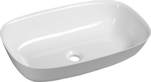 Sapho REIKO umyvadlo 60x36cm, litý mramor, bílá RE600