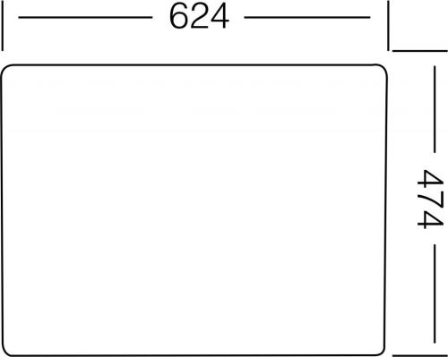 Nerezový dřez Sinks GRAND 652 V 0,8mm leštěný STSGRL6525038V