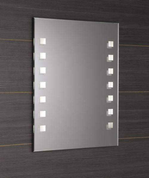 Aqualine LED podsvícené zrcadlo 60x80cm, kolíbkový vypínač ATH56