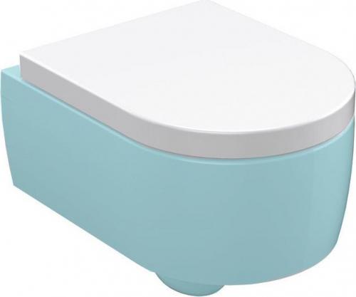 Kerasan FLO WC sedátko, duroplast, bílá 318901