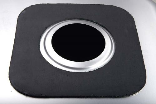 Aqualine Nerezový vestavný dřez 63x18x48 cm AQ6348