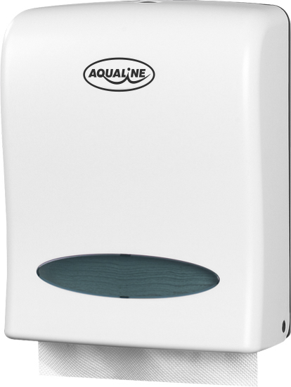 Aqualine Zásobník papírových ručníků 260x320mm, bílý 1319-80