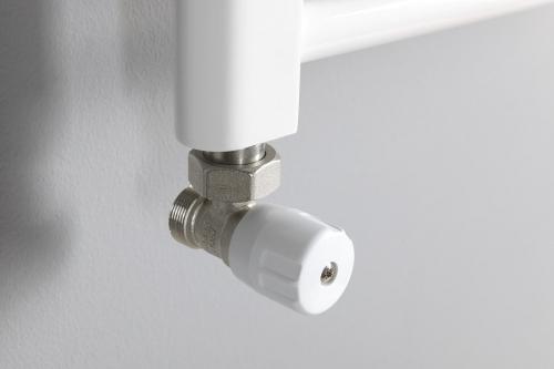 Aqualine ECO připojovací sada rohová, nikl/bílá CP9810