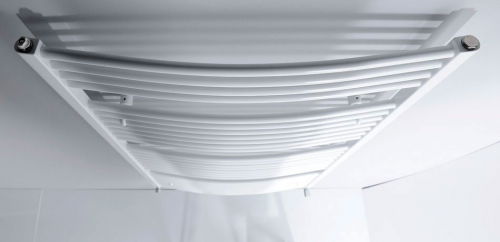 Aqualine Otopné těleso oblé 600x1690mm, 909W, bílá ILO66