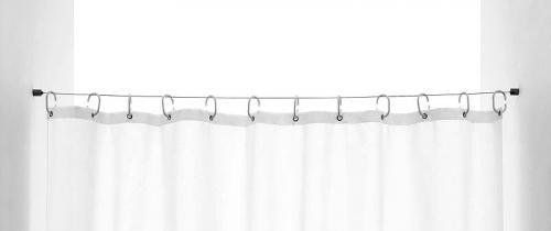 Ridder Ocelové lanko pro sprchový závěs, max.200cm 9620