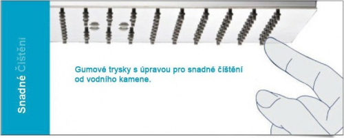 Sapho SLIM hlavová sprcha, kruh 250mm, leštěný nerez MS574